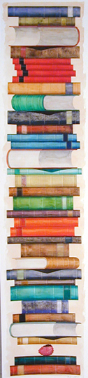 Biblioth�que (with Raspberry) by Fifo Stricker at Robert Brown Gallery