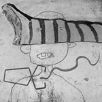 Wiggle by Roger Ballen at Robert Brown Gallery